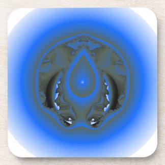 water elemental drink coaster