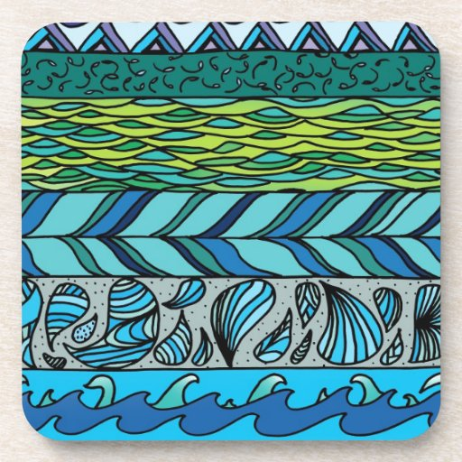 Water Elements Beverage Coasters