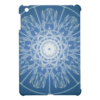 Water Elf Fairy Pentagram Wicca Pagan Spiral Snow Cover For The iPad Mini