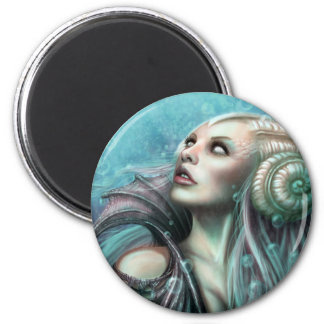 Water Fairy 2 Inch Round Magnet