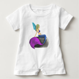 Water Fairy, also known as a Mermaid! Baby Romper