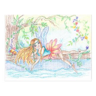 Water Fairy Dream Fantasy Art Postcard