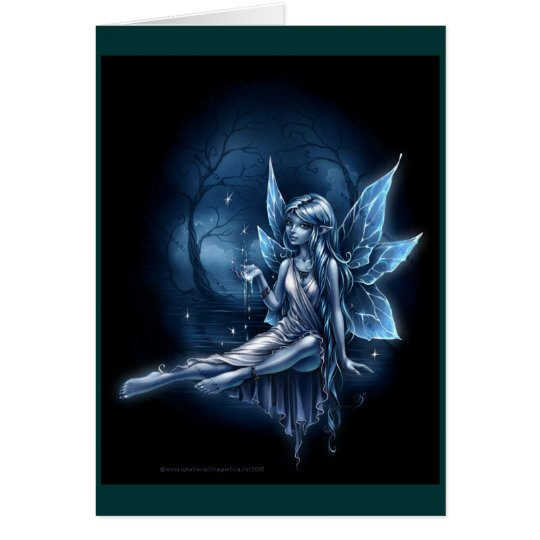 Water Fairy Friendship Card By Dark Heaven Rock 13