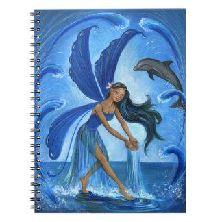 Water Fairy Spiral Note Book