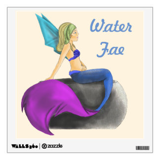 Water Fairy Wall Decal