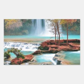 Water Fall Art Sticker