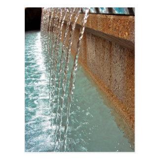 Water Falling Postcard