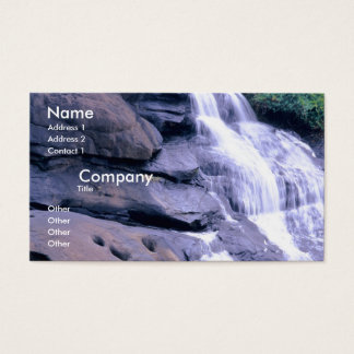 Water Falls Business Card