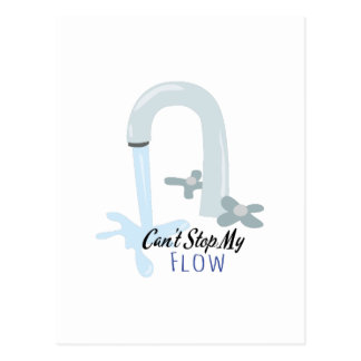 Water Faucet Post Cards