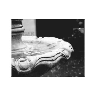 Water Fountain small canvas