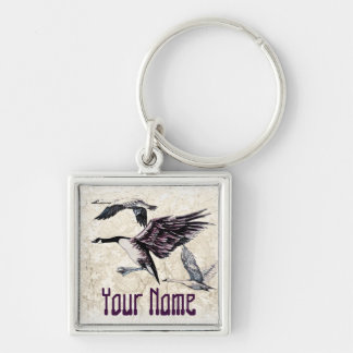 Water Fowl Keychain