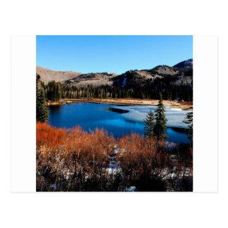 Water Frosty Beginning Postcard