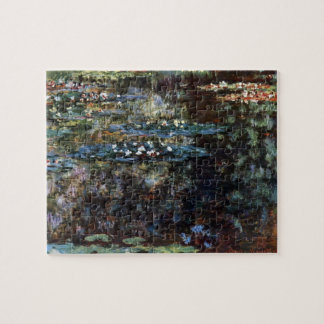Water Garden at Giverny, France by Claude Monet Jigsaw Puzzle