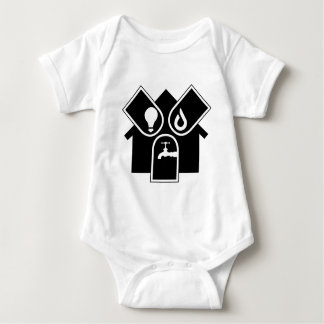 Water Gas Electric Baby Bodysuit