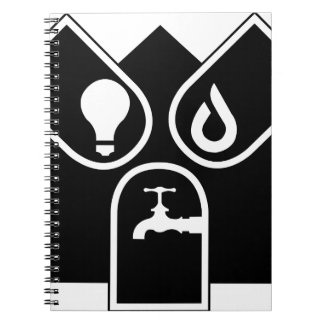 Water Gas Electric Notebook