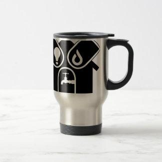 Water Gas Electric Travel Mug