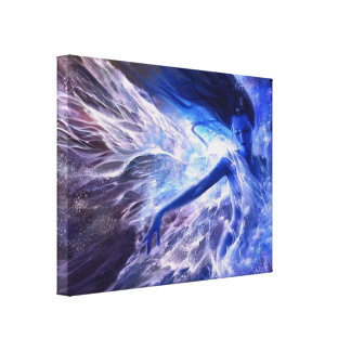 Water Goddess Canvas Print