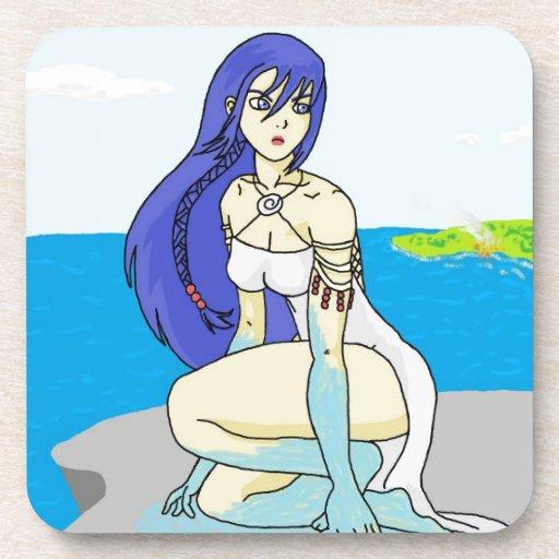 Water Goddess Drink Coaster
