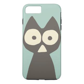 Water green Grey Triangle Symbolic Cat iPhone 8 Plus/7 Plus Case