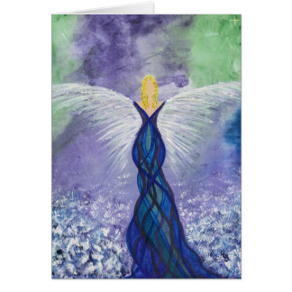 Water Guardian Angel Card