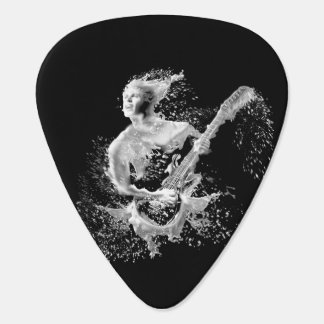 Water Guitar Player Pick