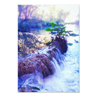 "water haze 3.5"" x 5"" invitation card"