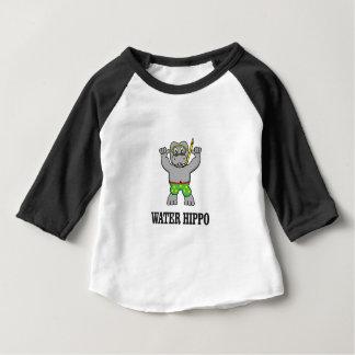 water hippo fun baby T-Shirt