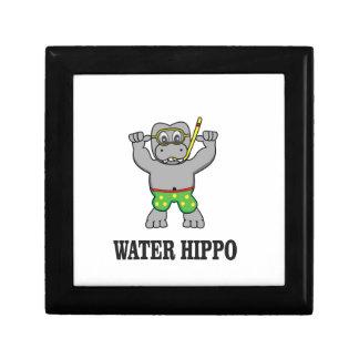 water hippo fun gift box