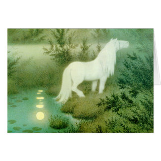 Water Horse Spirit Kelpie Backahast Card