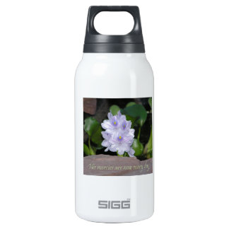 Water Hyacinth Insulated Water Bottle