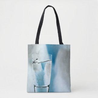 Water Iceberg Ice Blue Winter Tote Bag Purse