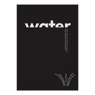 Water in Africa Poster