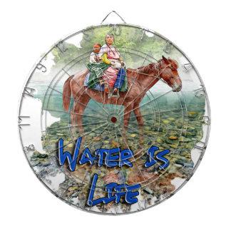 Water is Life Dartboard