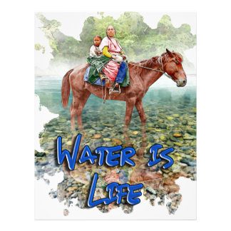 Water is Life Letterhead