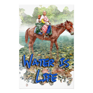 Water is Life Stationery
