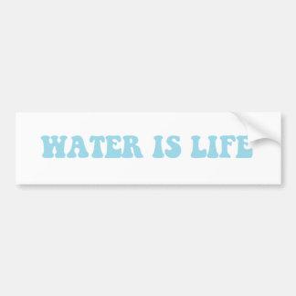 Water is Life sticker Bumper Sticker