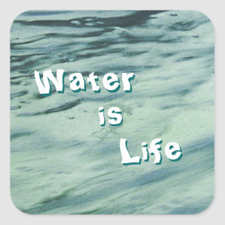 Water is Life Stickers