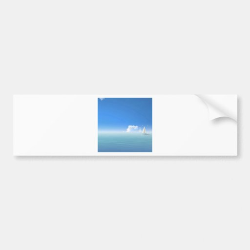 Water Island Boat Bumper Sticker