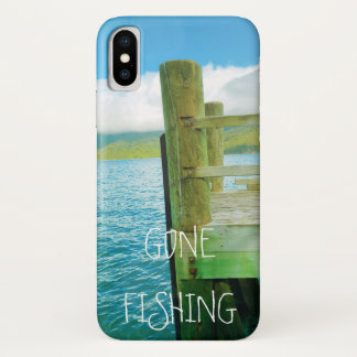 Water | Jetty | Gone Fishing iPhone X Case