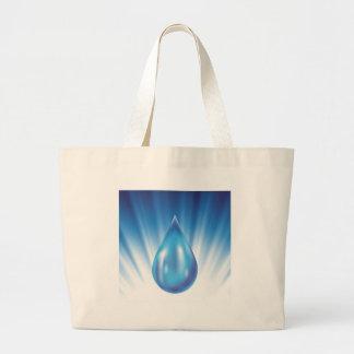 water large tote bag