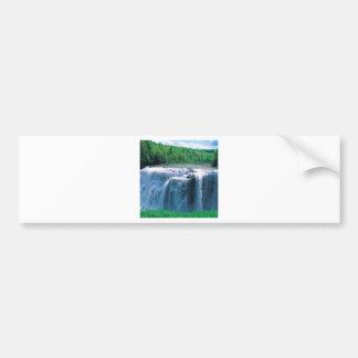 Water Letchworth State Park New York Bumper Sticker