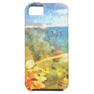 Water level in an aquarium case for the iPhone 5