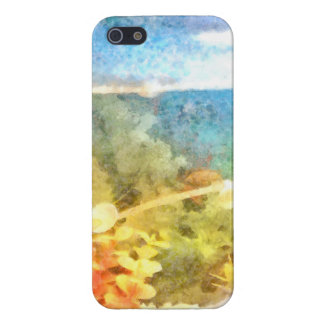Water level in an aquarium cover for iPhone 5/5S