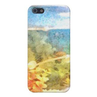 Water level in an aquarium iPhone 5/5S cases