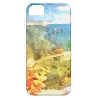 Water level in an aquarium iPhone 5 cover