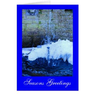 Water Like A Stone Greeting Card