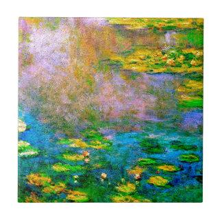 water-lilies-013 ceramic tile
