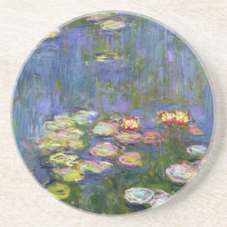 Water Lilies 10 Coaster