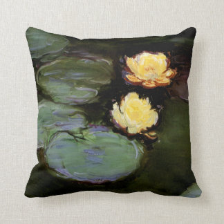 Water-Lilies: 1897-98 by Monet Throw Pillow