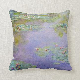 Water Lilies 1903 Claude Monet Fine Art Throw Pillow